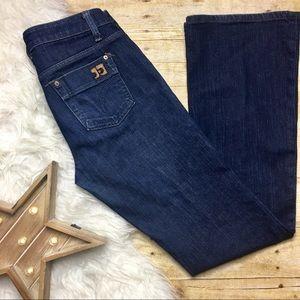 Joe's Jeans Dark Wash Flare Jean size 27